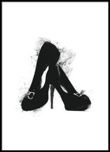 Black heels, plakat