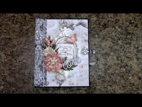 PART 1 TUTORIAL MINI ALBUM FOR BEGINNERS PS I LOVE YOU BY SHELLIE GEIGLE...