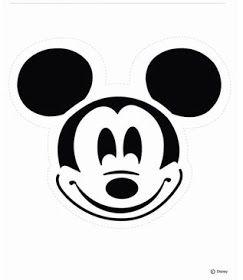 Disney Pumpkin Carving Pattern Mickey Mouse via Family.Go.Com