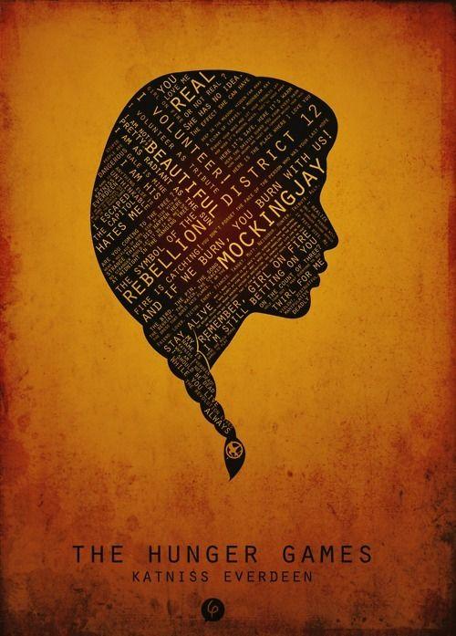 katniss everdeen, the girl on fire, the hunger games - inspiring ...