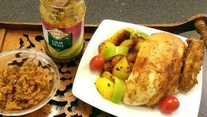 Tandoori csirke nepáli burgonyával