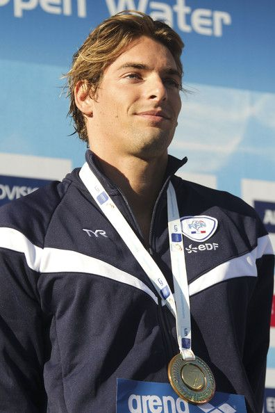 Camille Lacourt Wins a Gold Medal
