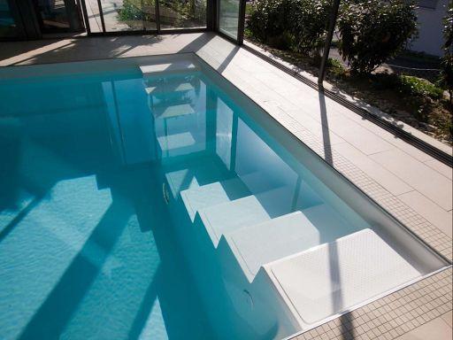 11 best images about binnenzwembaden on pinterest posts doors and aqua - Zwarte voering voor zwembad ...