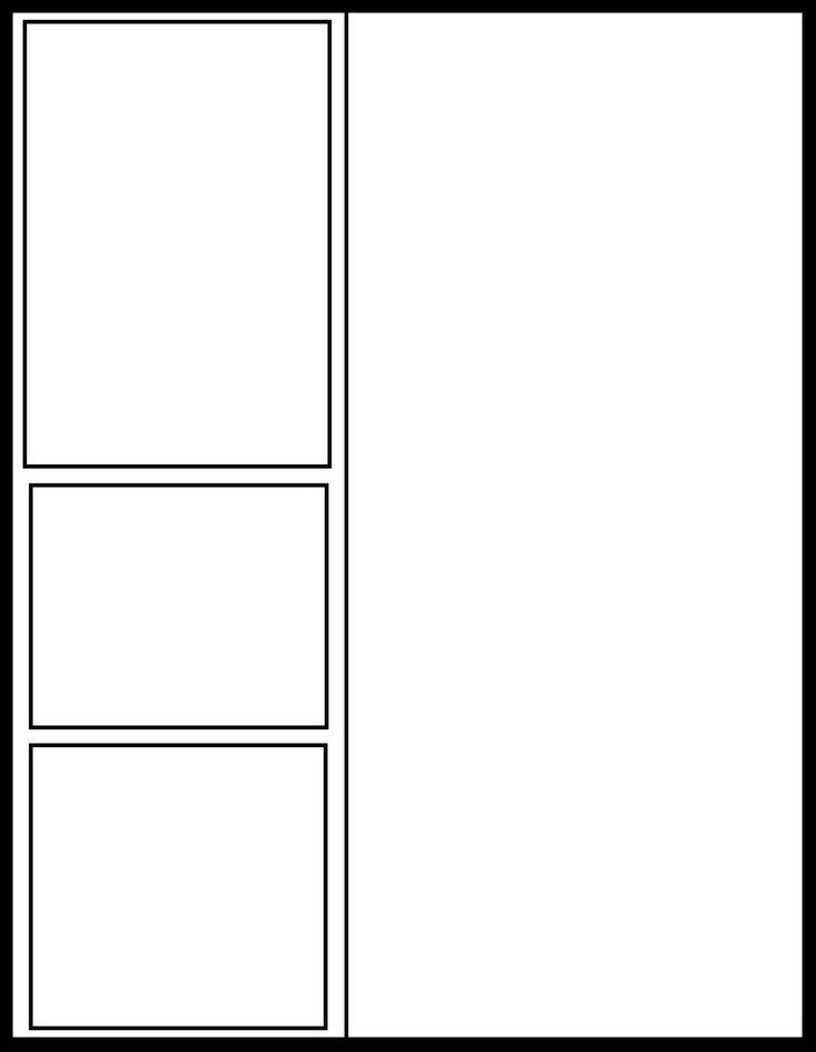 four panel comic strip template - 8 best manga panels images on pinterest templates comic