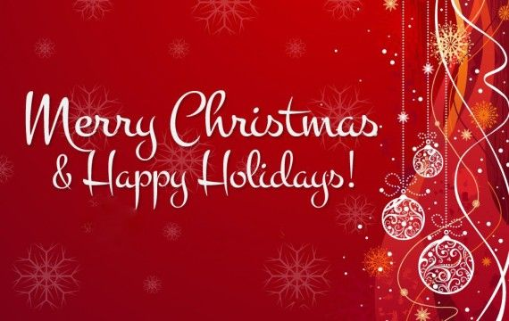 Merry Christmas and Happy Holidays To All My Friends