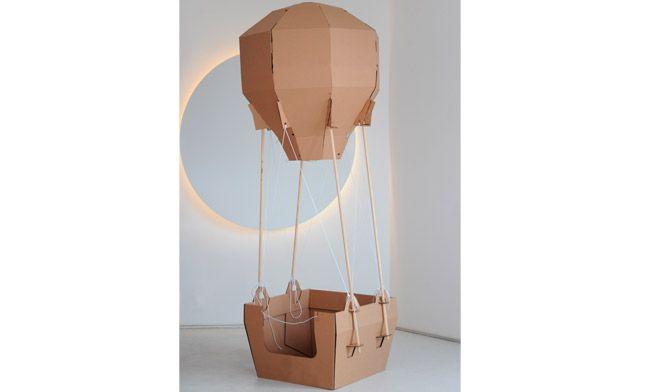 Balão de Papelão