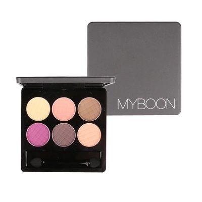Baru MYBOON 6 warna matte, Eye Shadow palet, Dan keringat Resistant ada Halo Nude Make up palet Makeup