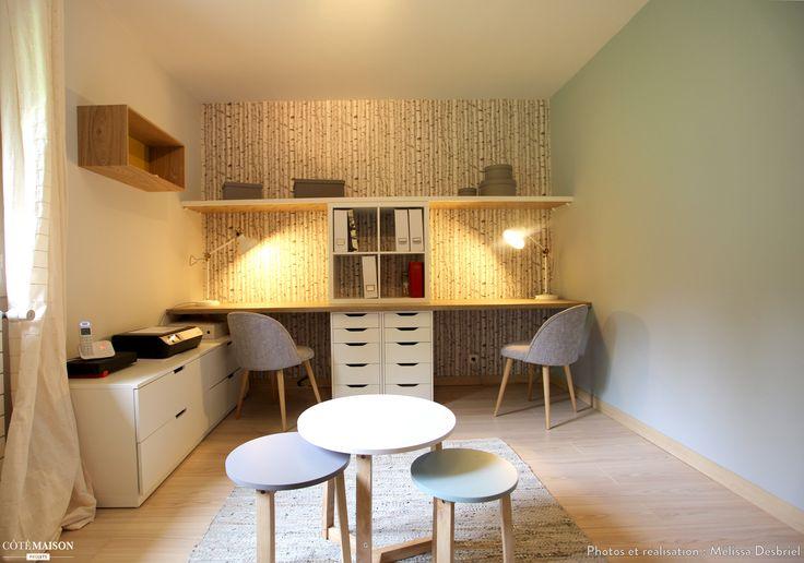 Bureau chambre d'amis, Mélissa Desbriel - Côté Maison