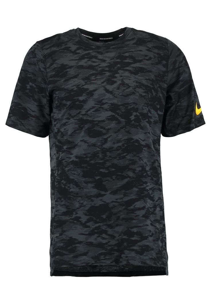 Sportkleding Nike Performance ELITE - T-shirt print - black/anthracite Zwart: € 44,95 Bij Zalando (op 11-9-17). Gratis bezorging & retour, snelle levering en veilig betalen!