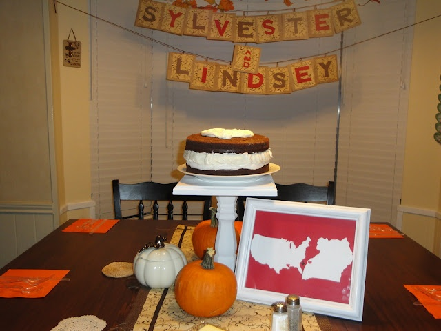 McCarty Designs Party/Event Blog: Recipe Shower: Fall Themed