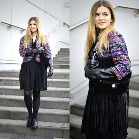 Colourful jacket. -  więcej na www.STYLIZACJE.pl