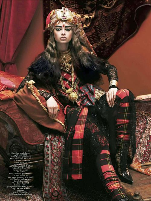 Jennifer Sullins | Anthony Maule | CR Fashion Book #1, F/W 2012/2013 | 'The White Mughal' - 8 Style | Sensuality Living - Anne of Carversville Women's News