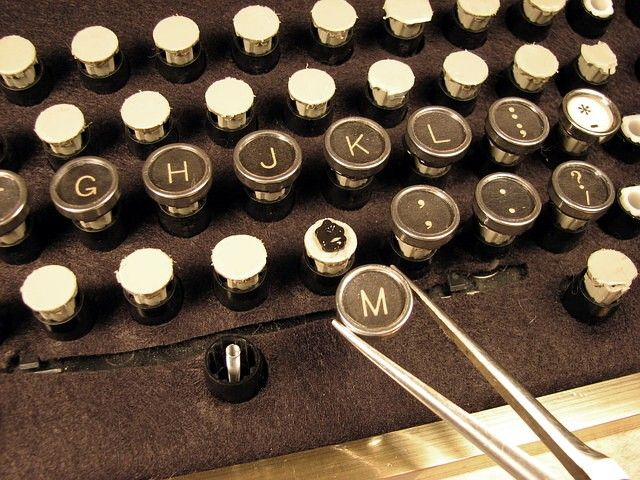 Steampunk your keyboard - that would take about three million years, but LOOK at it!