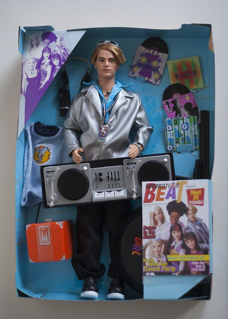 New boy in my collection. Open Box. 1999 Generation Girl BLAINE