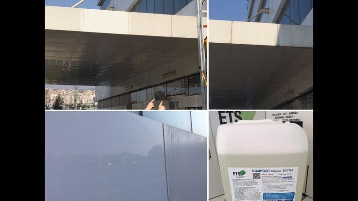 Kompozit Panel Dış Cephe Temizleme Maddesi