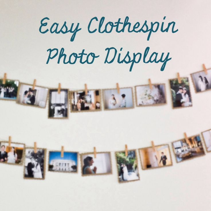 Looking for ways to display your photos without paying for expensive framing? Try this super simple DIY project with just a few materials!