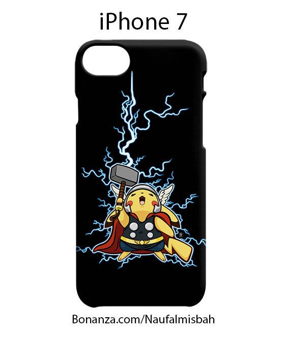 Pikachu Thor Marvel iPhone 7 Case Cover
