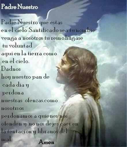 Padre. Nuestro Prayer