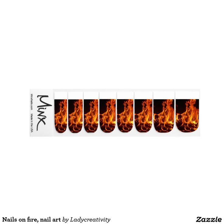 Nägel auf Feuer, Nagelkunst