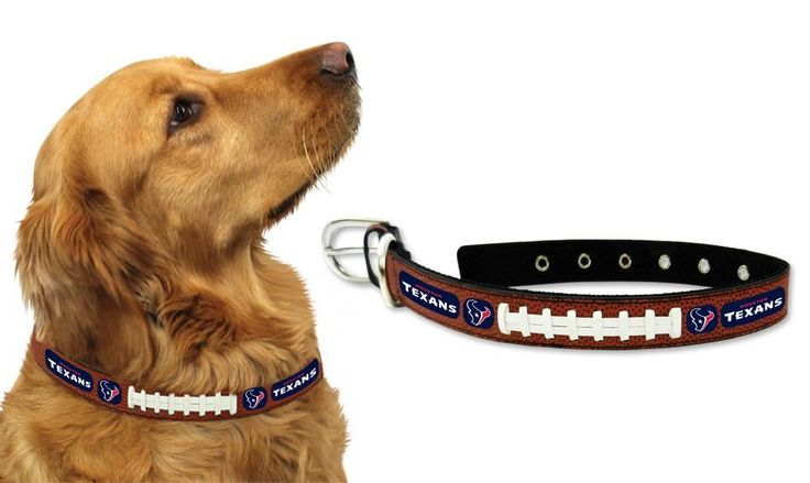 Houston Texans Dog Collar – Size Large – ResellerHub.store