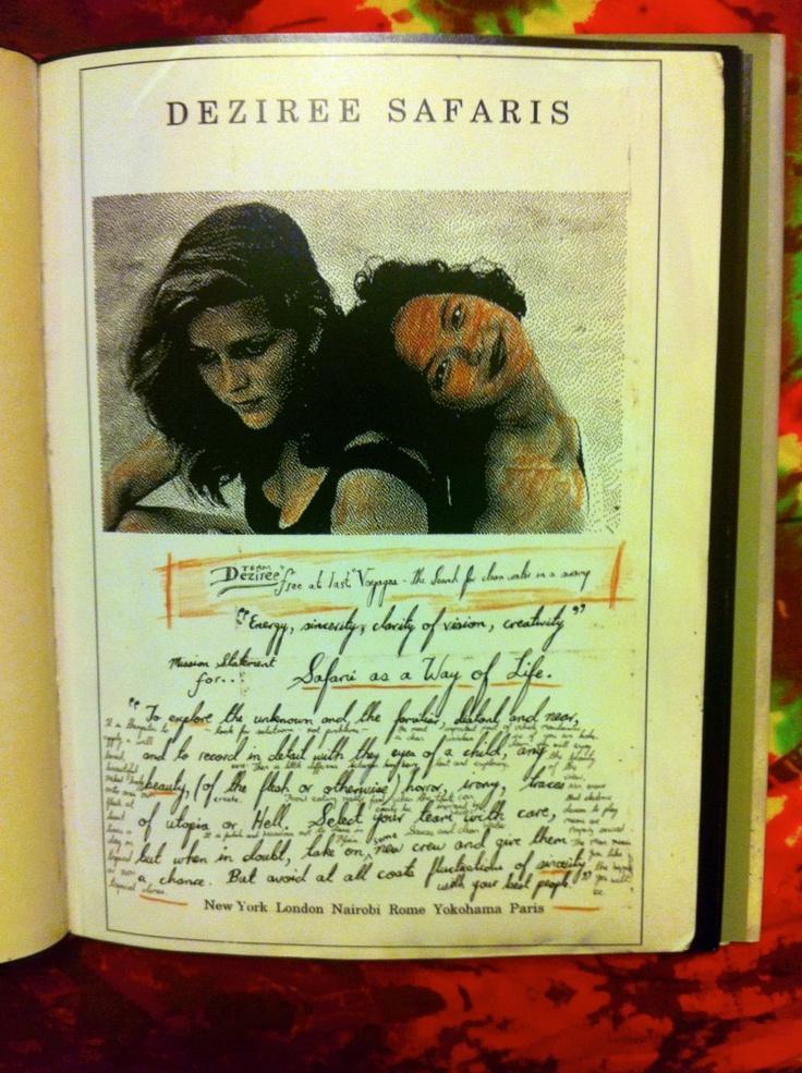 """Energy, sincerity, clarity of vision, creativity"" ~ Celebrating Dan Eldon's Birthday"