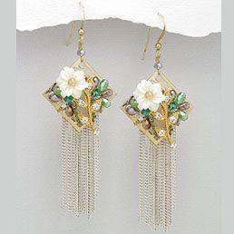 Cercei candelabru - bijuterie handmade cu cristale. http://www.argintarie.ro/Cercei-candelabru-p-17056-c-252-p.html