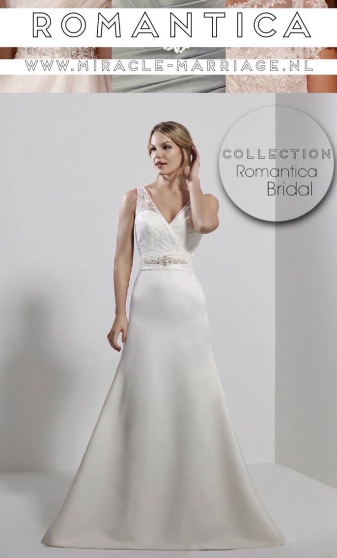 #miracleontwerpers Romantica Bridal #trouwen #bruidsjurk