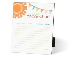 Make your own chore chart for this summer! from Creative Memories