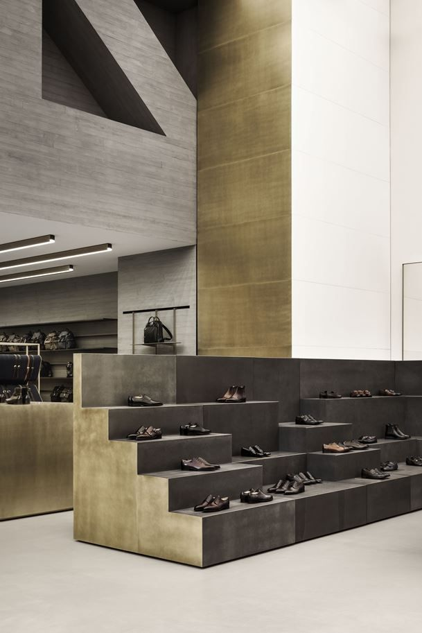 An Ode To Swiss Architecture Bally S Showroom Retail Store