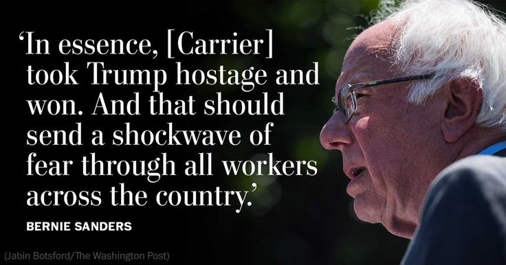 We need a president who can stand up to big corporations, not fold to their demands.