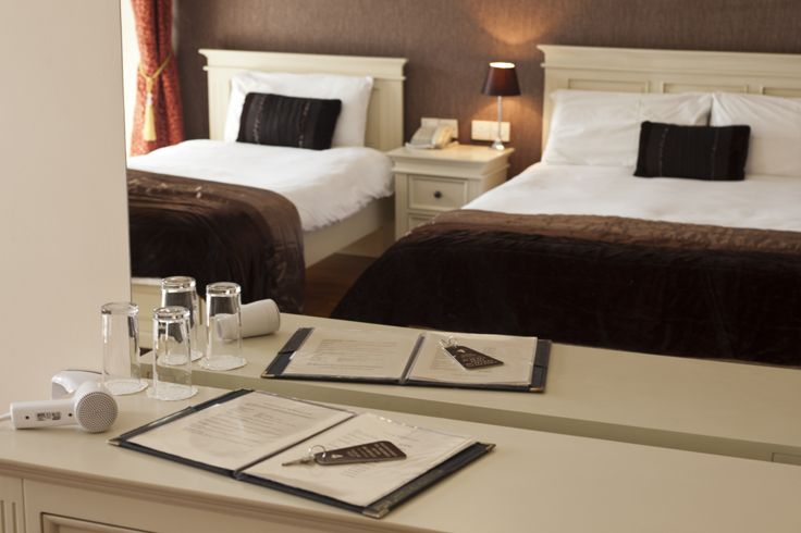 Each room at the Muskerry Arms B&B features amenities like hairdryers and irons.
