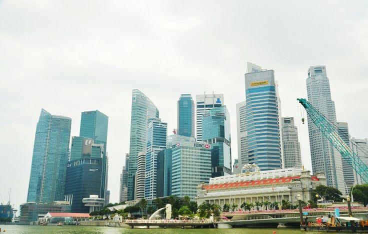 The Singapore's Skycrappers #building #singapore #travel #landscape