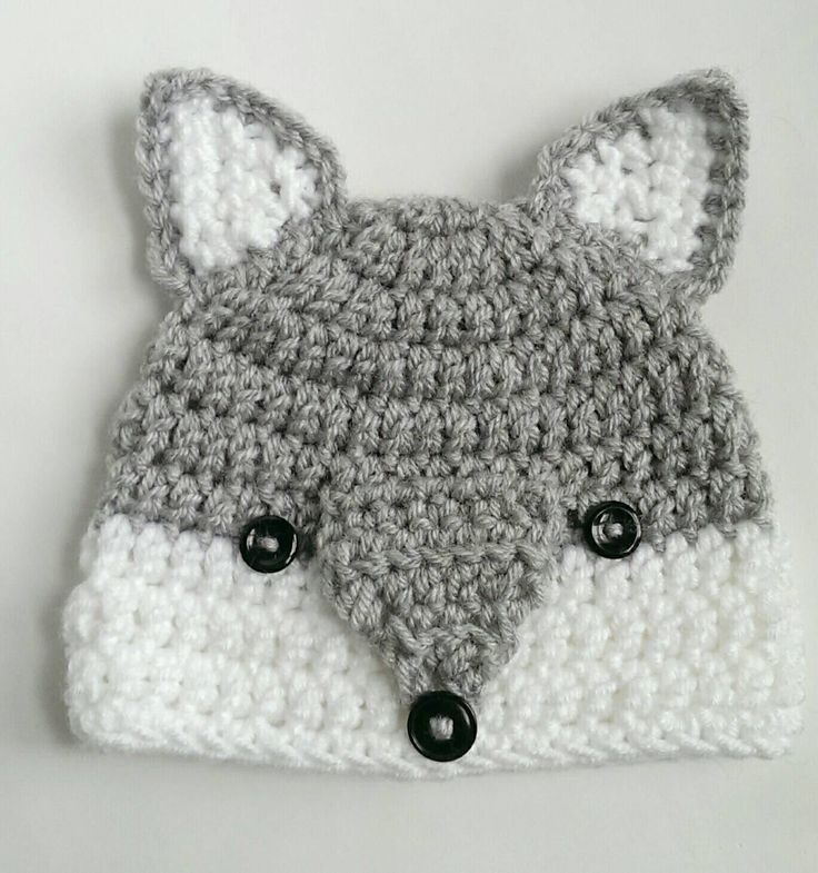 wolf hat woodlands animal handmade crochet knit hat beanie by TheFreckledPurl on Etsy www.etsy.com/...