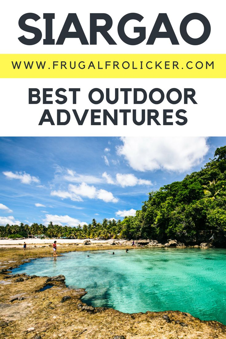 What to do in Siargao: Siargao outdoor adventures, in the Philippines