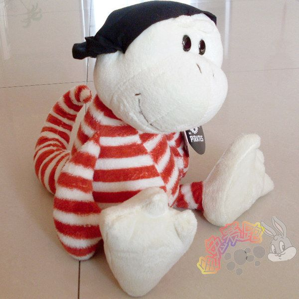candice guo plush toy stuffed doll cartoon animal NICI stripe House lizard Pirate Gecko children baby birthday gift present 1pc #Affiliate