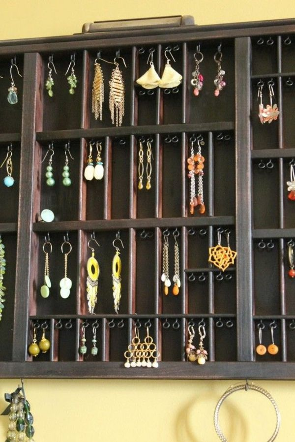 comment ranger ses bijoux diy bijoux de mari e. Black Bedroom Furniture Sets. Home Design Ideas