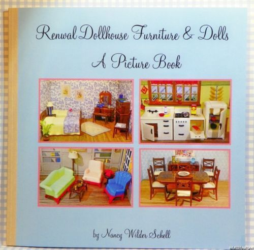 RENWAL-PICTURE-BOOK-Guide-Vintage-Miniature-Dollhouse-Furniture-Ideal