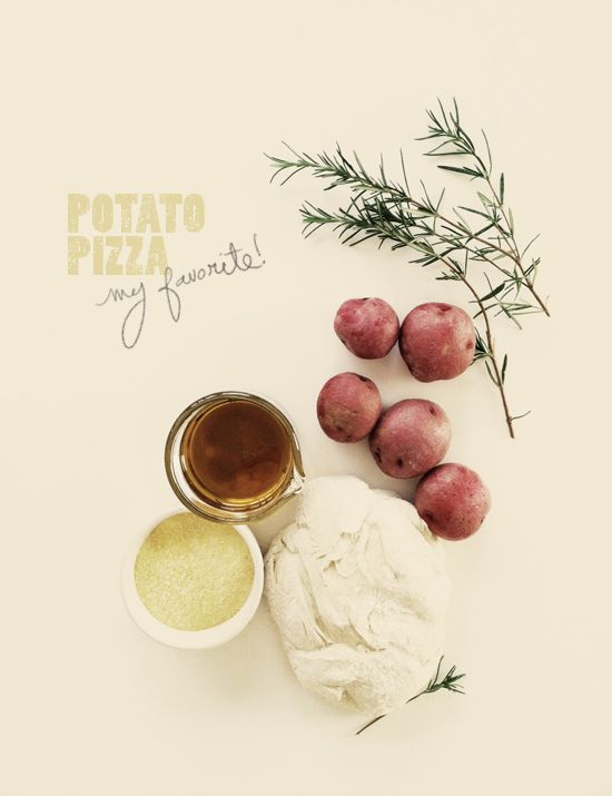 potato pizza with rosemary infused olive oil: Eating Cooking, Pizza Recipe, Health Food, Infused Olives Oil, Mashed Potatoes, Pizza Yum, Food Photo, Potatoes Pizza, Rosemary Potatoes