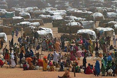 Refugeecamp  Tschad
