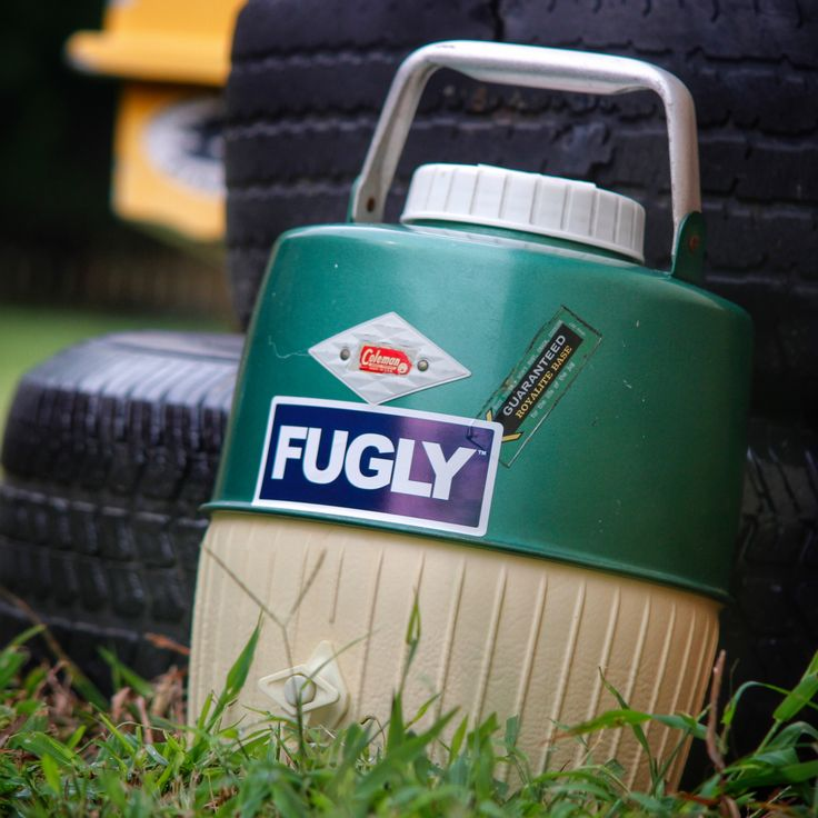 What is a FUGLY Cooler? Its yours! Its that ugly old cooler you have sitting around in your grarage/basement/shop  #fugly #fuglycooler #fuglycoolers #icechest #fuglyshit #letsgetfugly #cooler #coolers #notayeti #meltsicefast #wildlyugly #ugly #uglycooler #makecoolersgreatagain #coolerrevolution #yeti #rtic #coleman #colemancooler #rubbermaid #makeamericagreatagain #revolution #ice #coldbeer #beer #instabeer #beerfest #beerpong #yeticooler