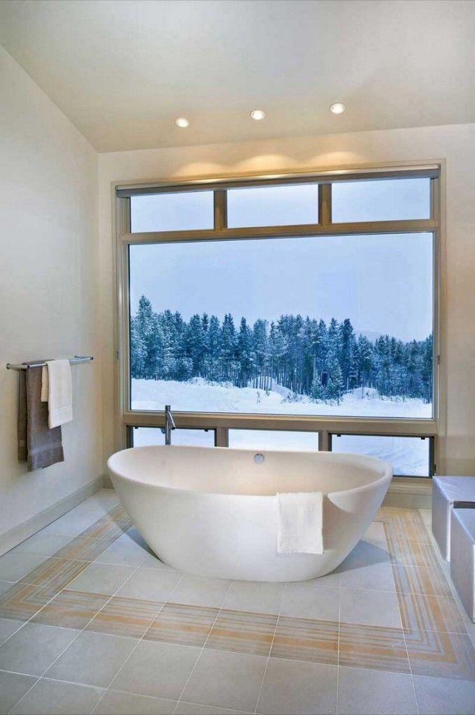 Ronde badkuip | vrijstaand | wit | badkamerinspiratie | #15 mooiste badkuipen - Makeover.nl