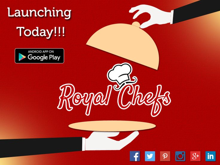 Your Wait Is Over. All The Chefs And All The Foodies! One Stop For Everybody. Here Launches Royal Chefs. Download From the Google Play Store Now. ‪#‎Foodapp‬ ‪#‎Tiffins‬ ‪#‎homemadefood‬ ‪#‎restaurants‬ ‪#‎royalchefs‬  https://play.google.com/store/apps/details?id=com.gyantech.royalchef&hl=en