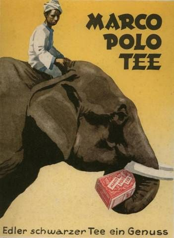 Ludwig Hohlwein (1874-1949) Marco Polo Tee (1920)