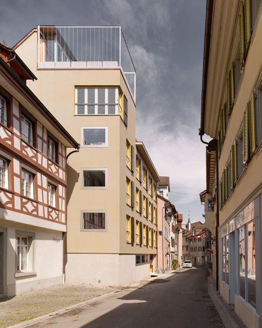 Mehrfamilienhaus Kirchgasse Steckborn Staufer & Hasler Architekten