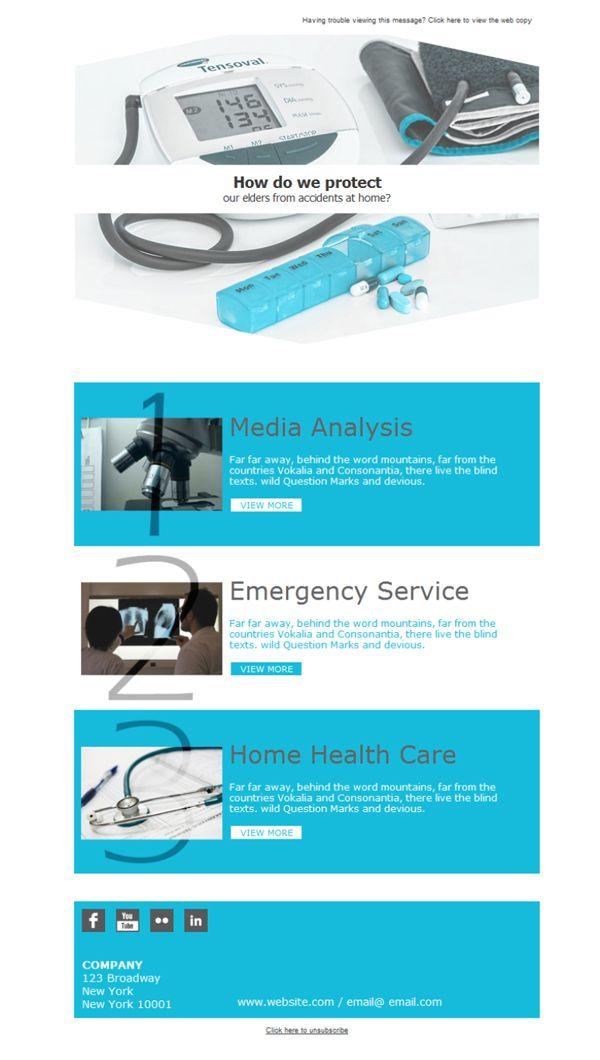 Mejores 14 imágenes de Médicos - Plantillas Newsletter en ...