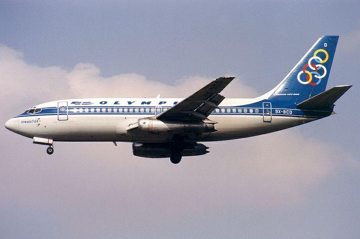 Olympic Airways, Boeing 737-200, SX-BCD, Athens Hellinikon
