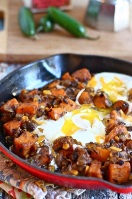 Southwestern Breakfast Skillet | Fooood | Pinterest