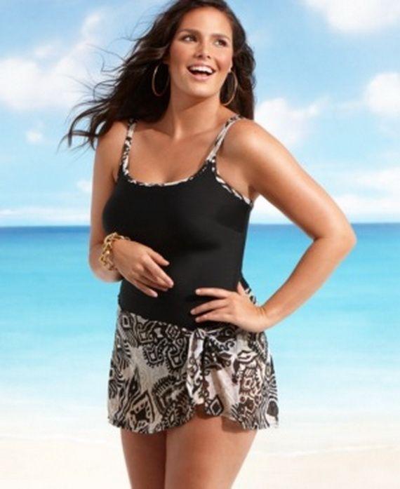 30 best plus size print swimwear images on pinterest | plus size