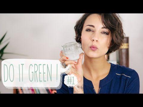 Do It Green - 3 recettes: sérum SOS, déo, nettoyant multi-usage
