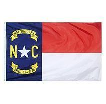 Annin - North Carolina State Flag 3x5 ft. Nylon SolarGuard